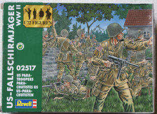 Revell 1/72 RV02517 US Paratroopers (WW2)
